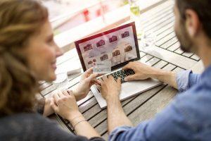Online-Shopping Konto immer und überall - ganz einfach online