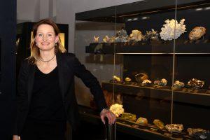 Anna Dziwetzki I Leiterin Ausstellung I TU Bergakademie Freiberg I Ausstellung terra mineralia