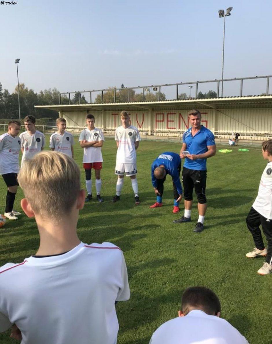Ex-Profi fesselt junge Kicker aus Penig.