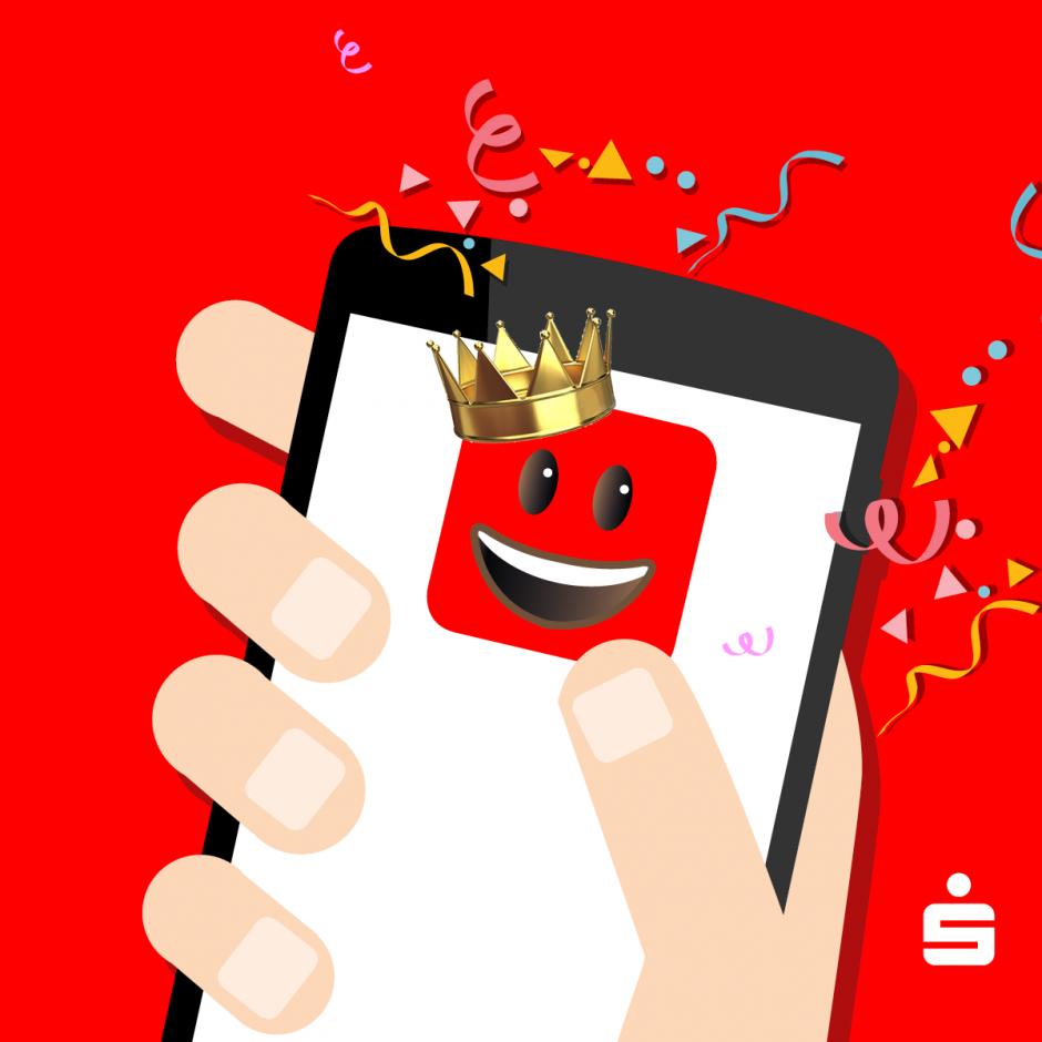 Unsere App ist die Beste! Jetzt mit Siegel.