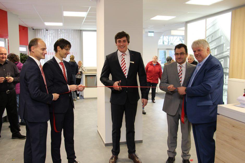 Filiale der Zukunft in Hainichen eröffnet.