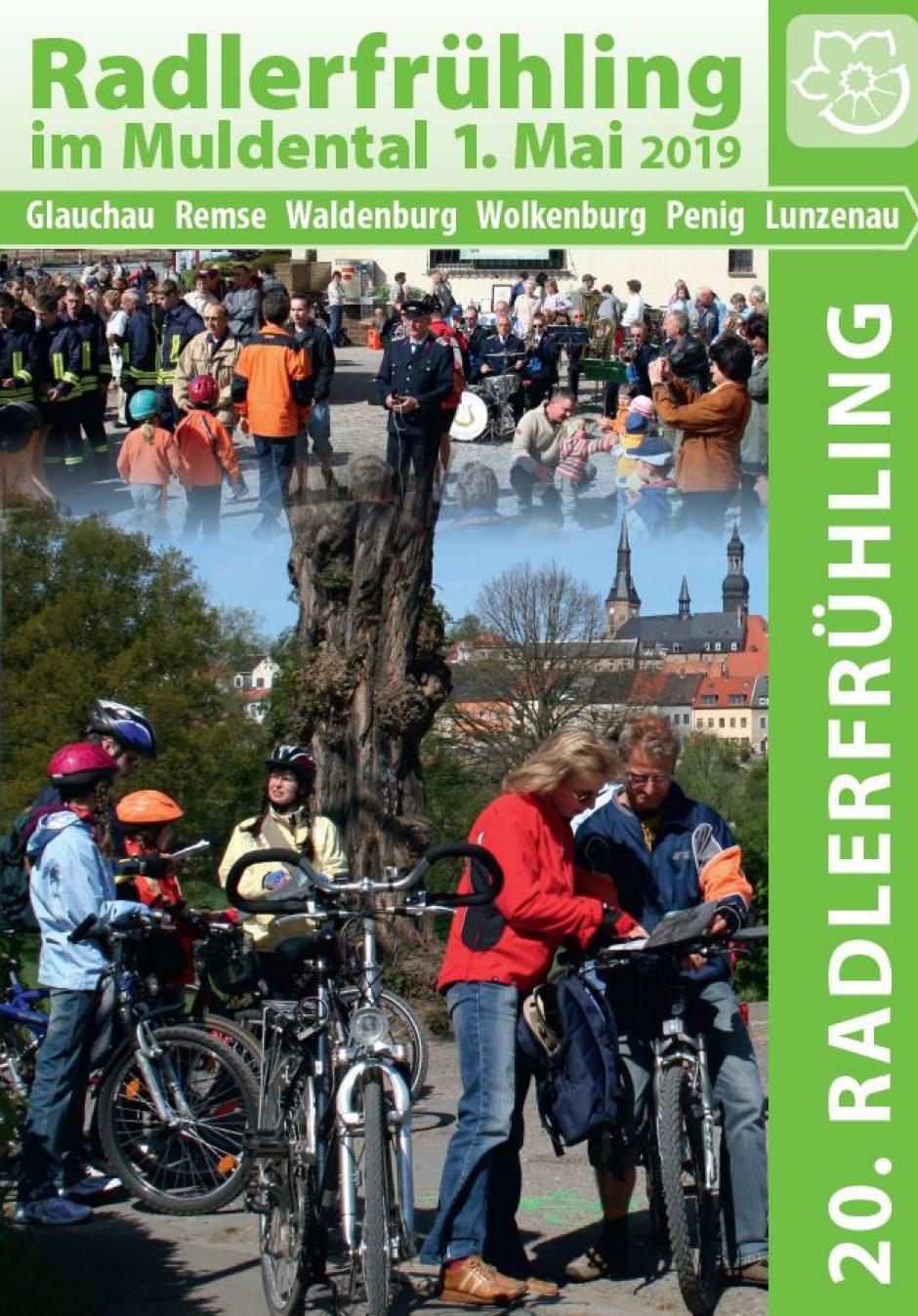 20. Radlerfrühling im Muldental am 1. Mai