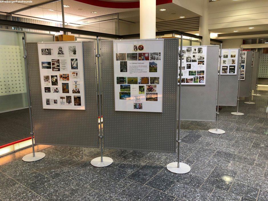 Fotoausstellung der Freiberger Fotofreunde.