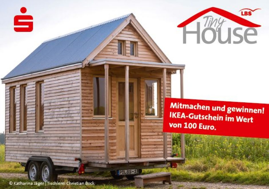 Tiny-House der LBS bei der Landesgartenschau!
