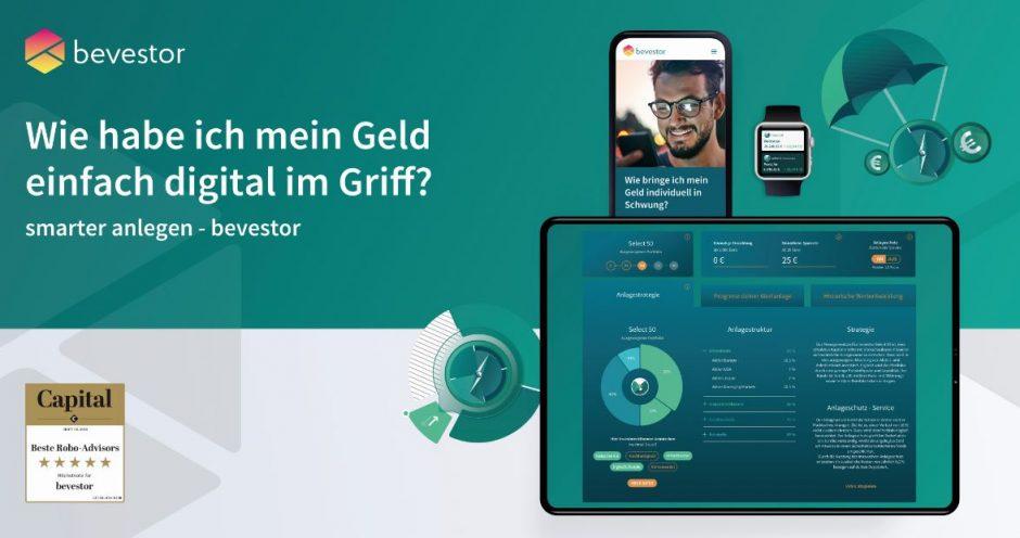 bevestor: Smarter anlegen – schon ab 25 Euro