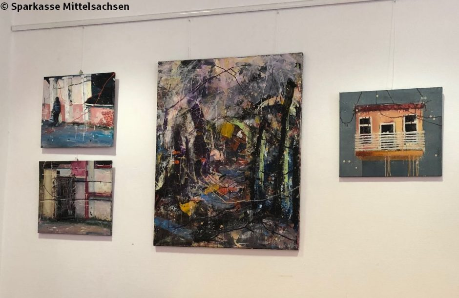 """Ausstellung Sparkasse Mittweida: """"Kunst und Kultur im Kiez"""""""