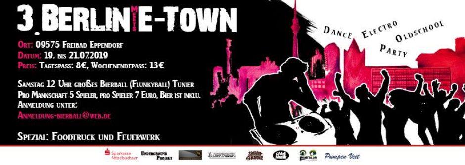 Tickets gewinnen! BERLIN MEETS E-TOWN am 19. und 20. Juli