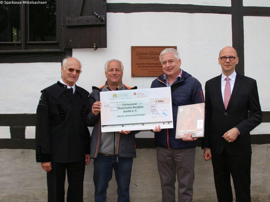 Bergbau in der Region um Rochlitz – Förderung durch Freiberger Stiftungen