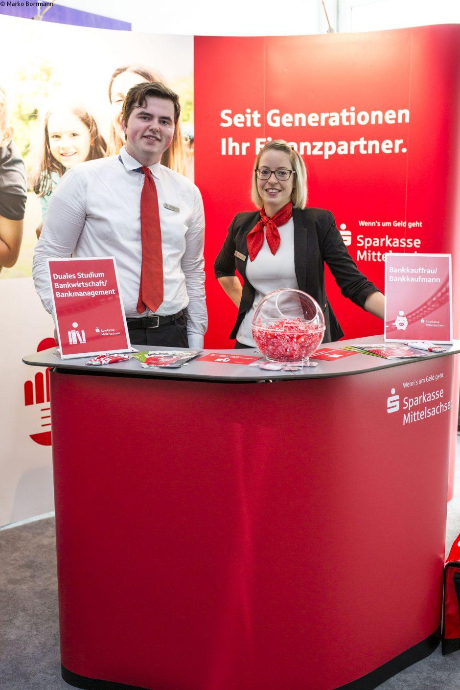 """Wir sind dabei! Ausbildungsmessen """"Schule macht Betrieb"""" in Mittweida und Freiberg."""