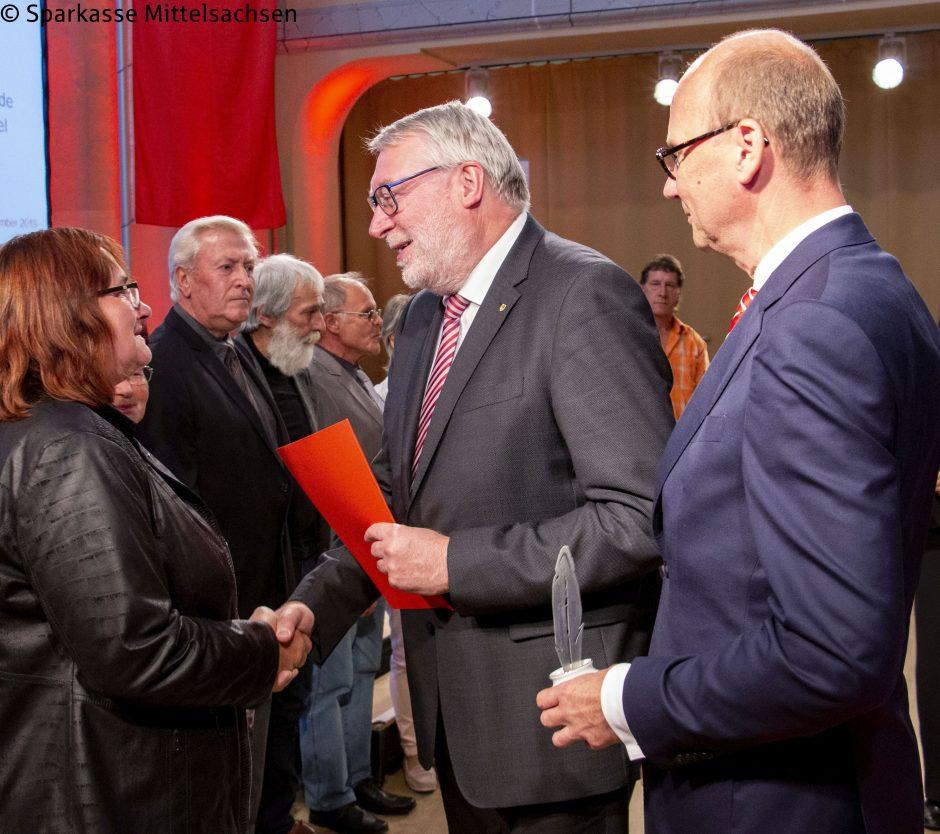 Engagierte Eppendorfer erhalten Ehrung der Sparkassen-Stiftung / 2
