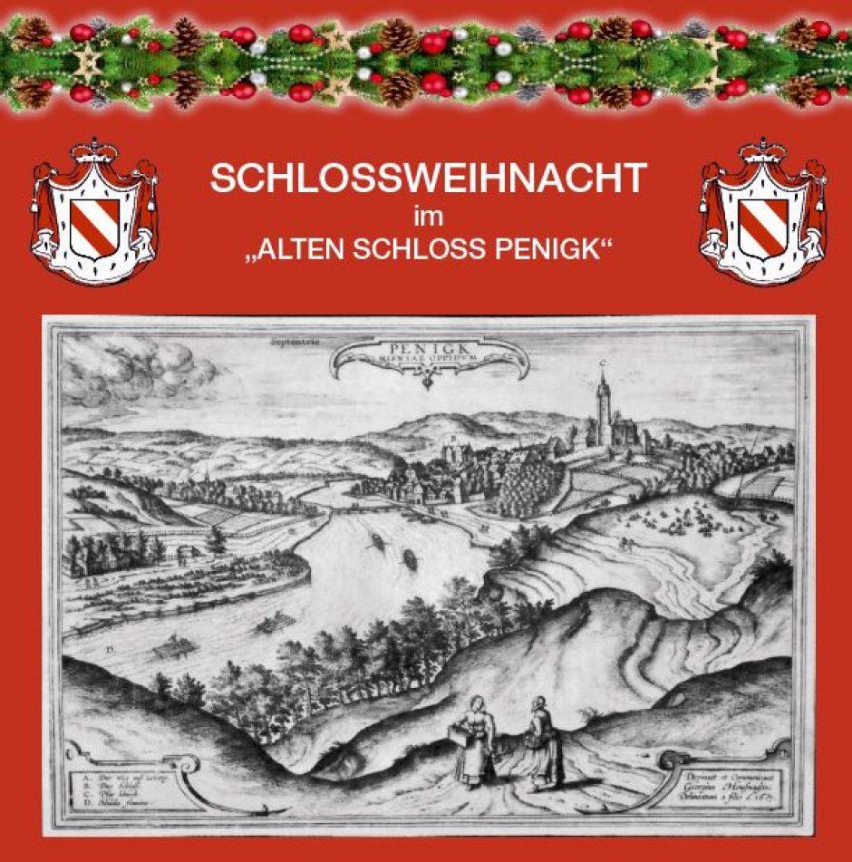 """""""Schlossweihnacht Penigk"""" am 7. und 8. Dezember – Freikarten zu gewinnen."""