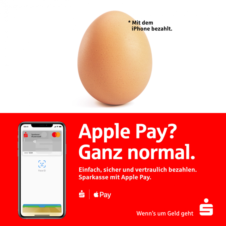 Apple Pay? Ganz normal.