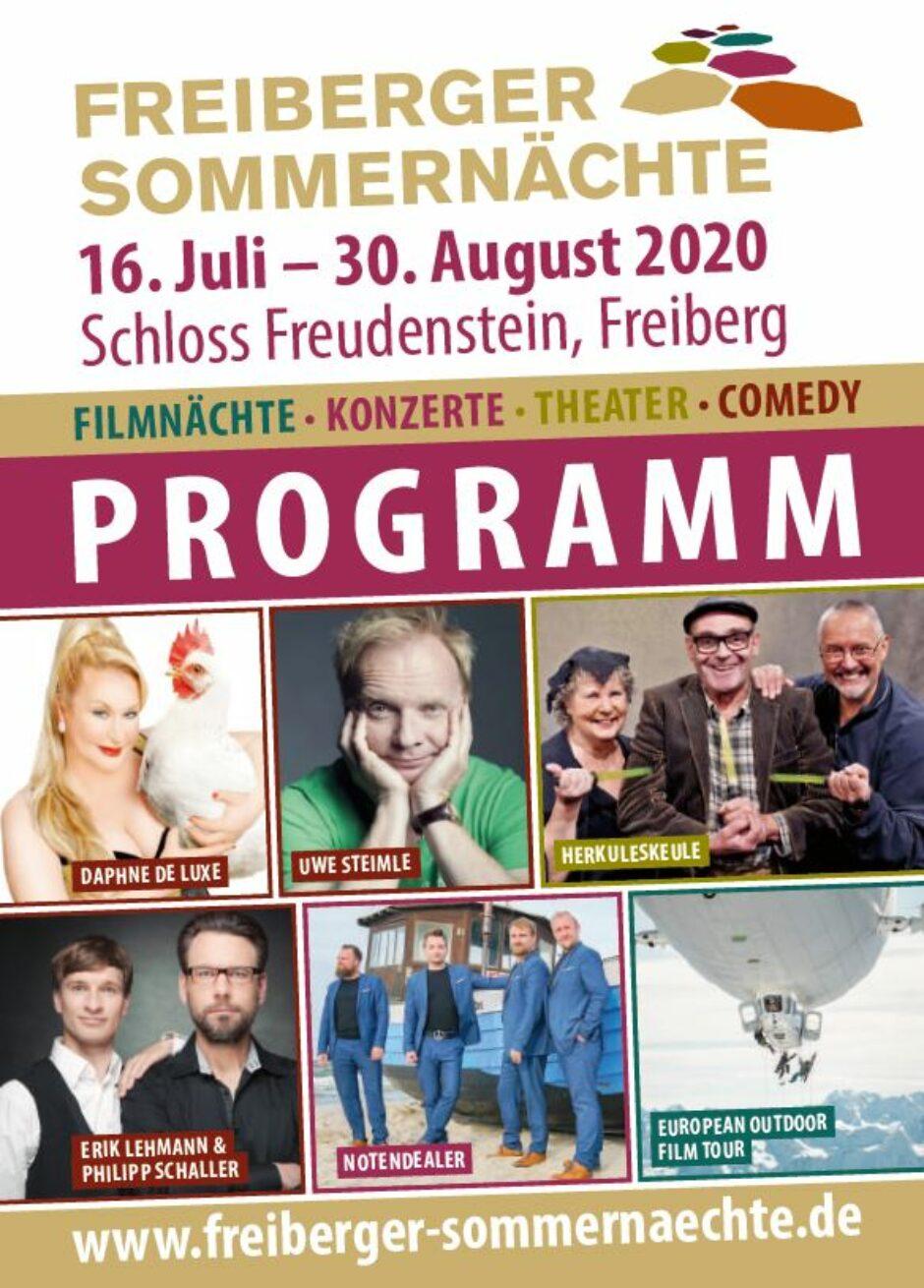Freiberger Sommernächte 2020.