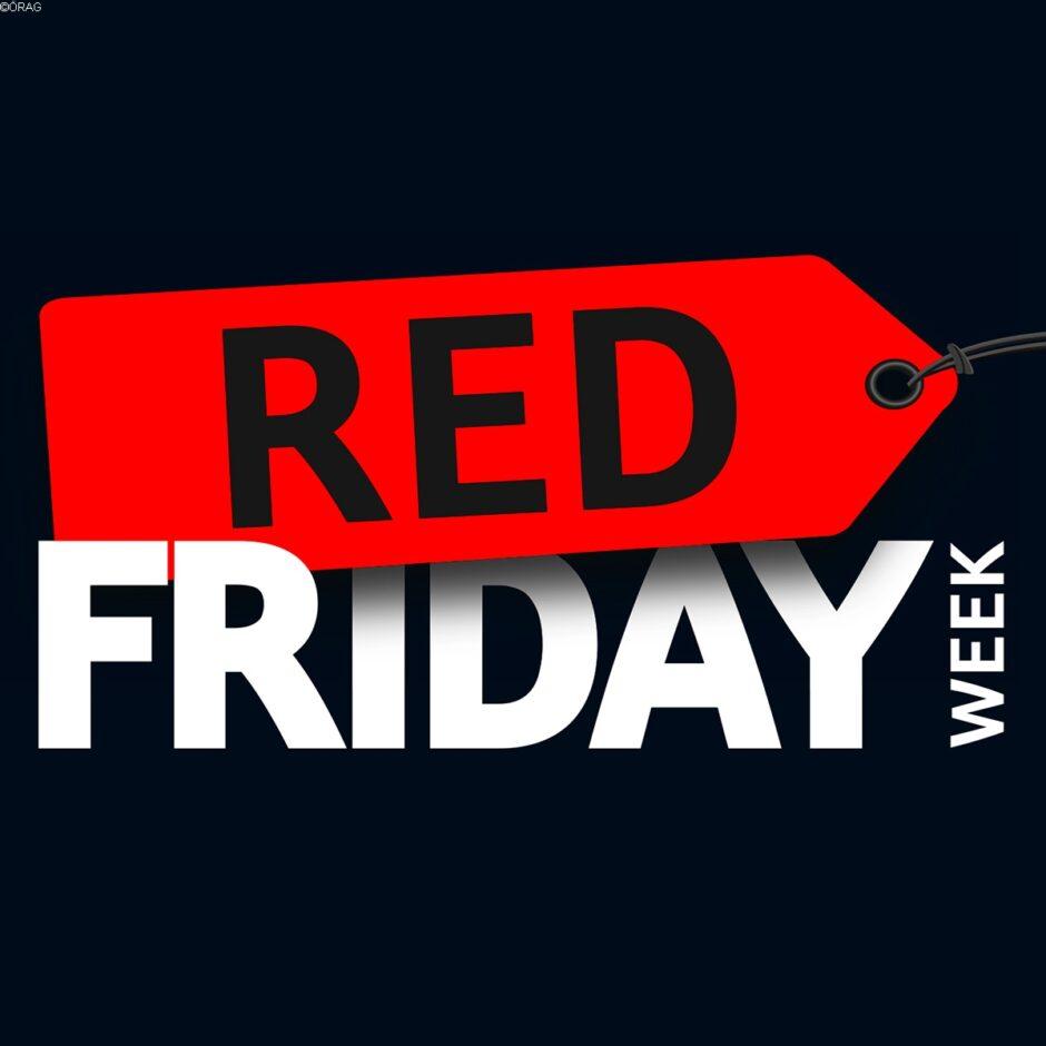 Rechtsschutz mit 20 % Nachlass* in der Red Friday Week.