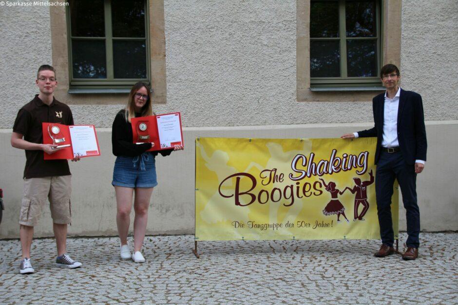 """""""Nachwuchspreis Ehrenamt"""" für """"The Shaking Boogies"""" aus Kleinwaltersdorf"""