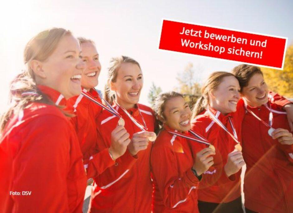 Gesunde Ernährung für junge Sportler: Jetzt für Workshops bewerben.